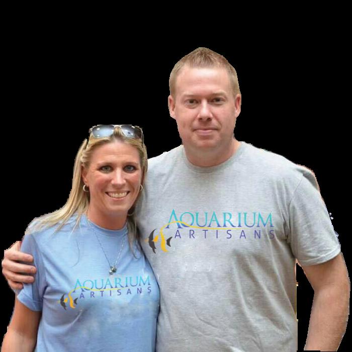 Aquarium Artisans founders Jeremy & Jennifer Embry