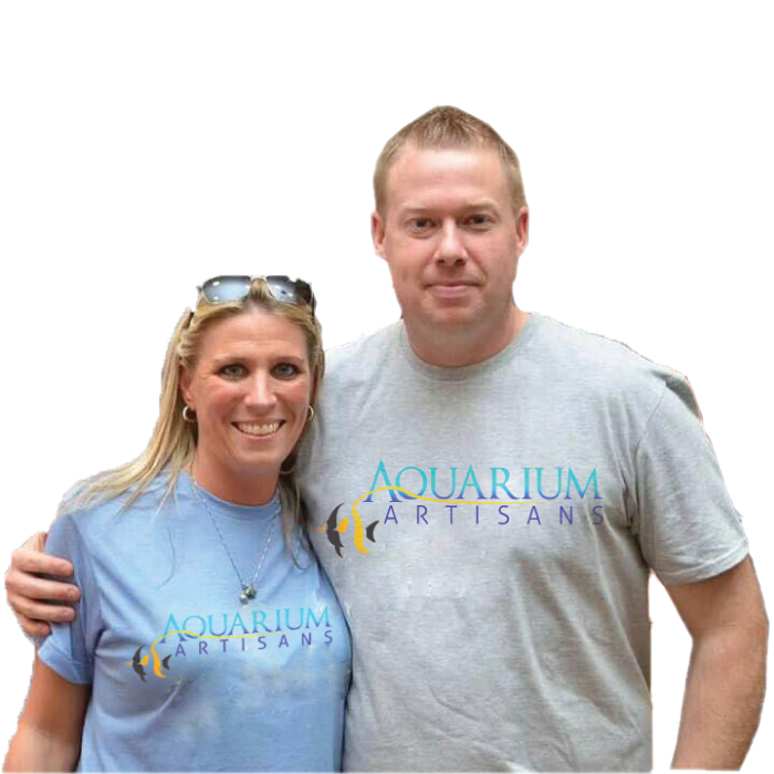Aquarium Artisans founders Jeremy & Jennifer Embry