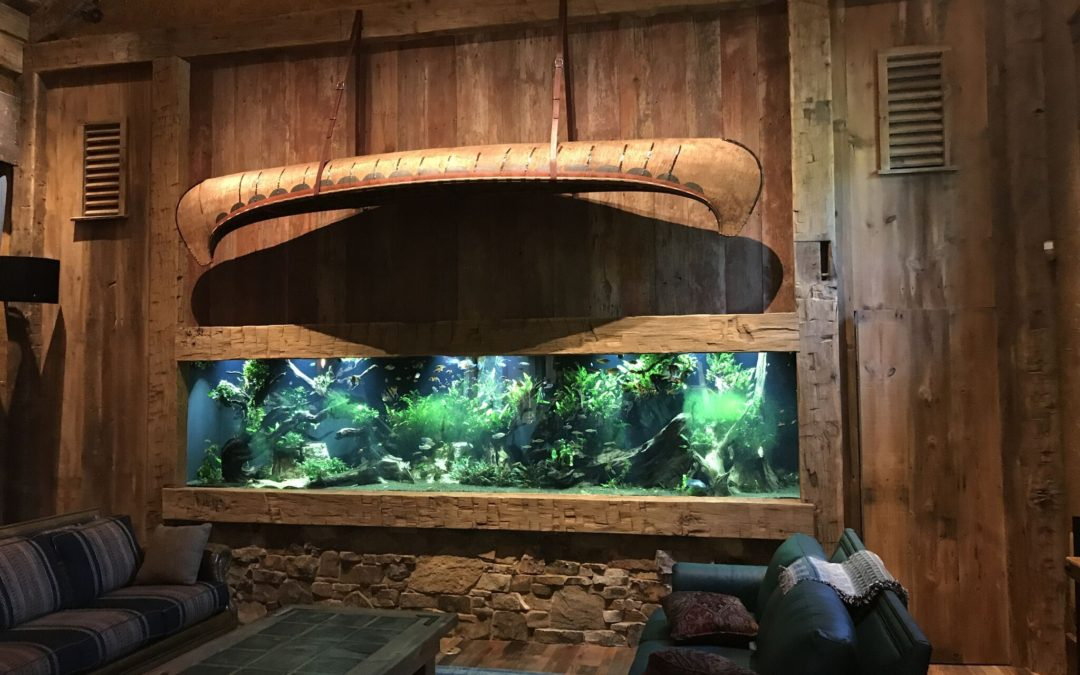 1600 Gallon Rectangle Residential Living Room