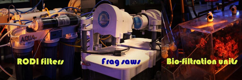 Used aquarium filters, frag saws, biofiltration units and more on sale now.