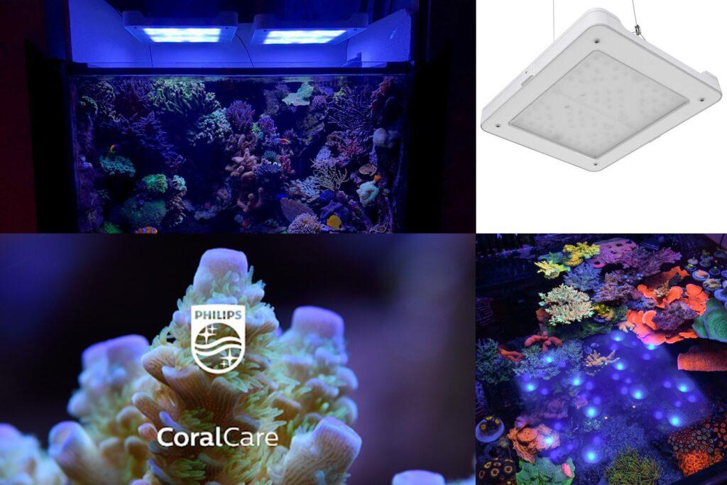 Philips CoralCare Gen2 wireless reef tank smart light system